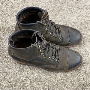 Vintage LL Bean Chippewa Leather Boots Sz 8